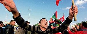 3 کشته در پی حضور نفربرهای ارتش در پایتخت تونس