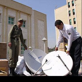 ممنوعیت استفاده از تجهیزات ماهواره ای