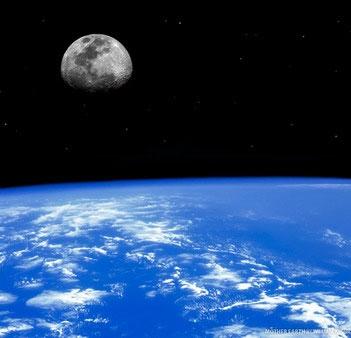 ماه - زمین