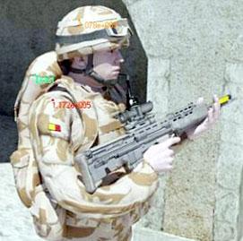 تجهیز پیاده نظام با سربازهای خورشیدی