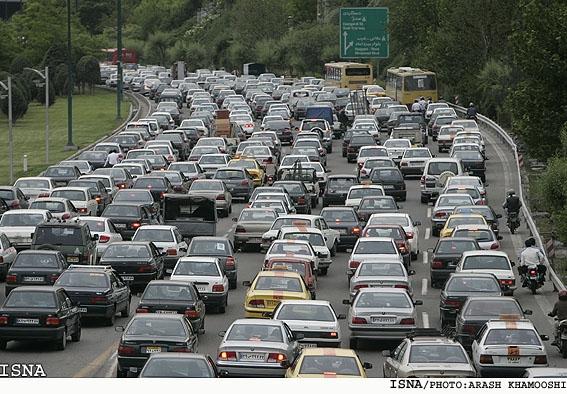 ترافیک جاده سفر