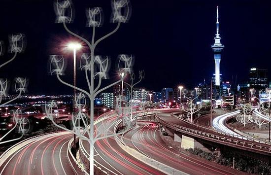 گلهای انرژی در میدانهای شهر