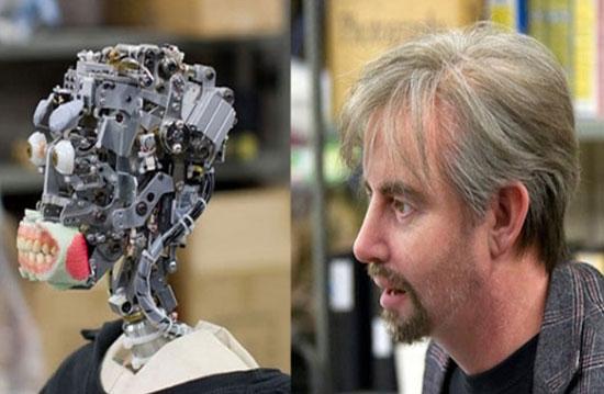 مرز میان انسان و روبات شکسته شد