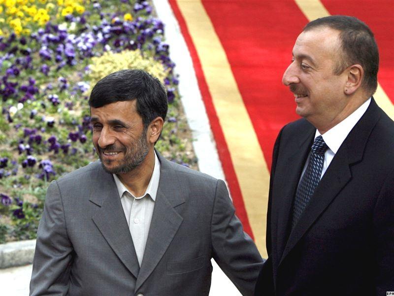 روسای ایران و آذربایجان