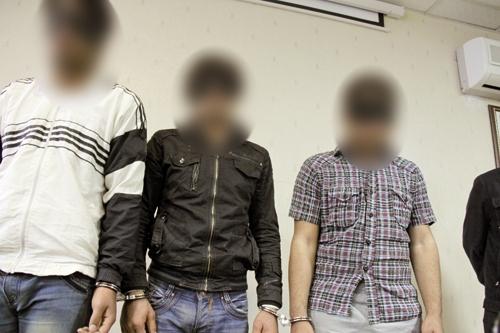 سارقان - دستگیری