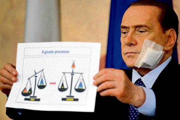 Berlusconi unveils judicial reforms