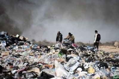 احتمال همهگیری بیماریها در میان آوارگان در مرز تونس و لیبی