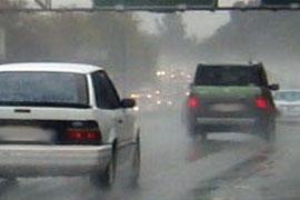 جاده باران سفر