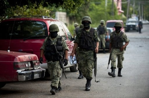 clashes over Mexico drug