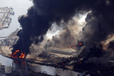 سونامی و زلزله در ژاپن