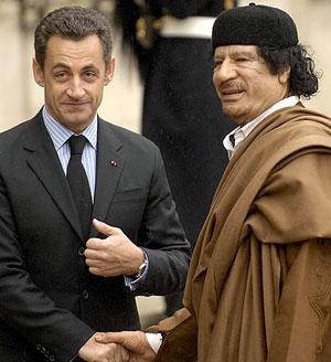 سارکوزی خواهان حمله به لیبی شد