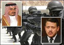 شاه اردن نیروهای سرکوبگر به رژیم آل خلیفه اجاره می دهد