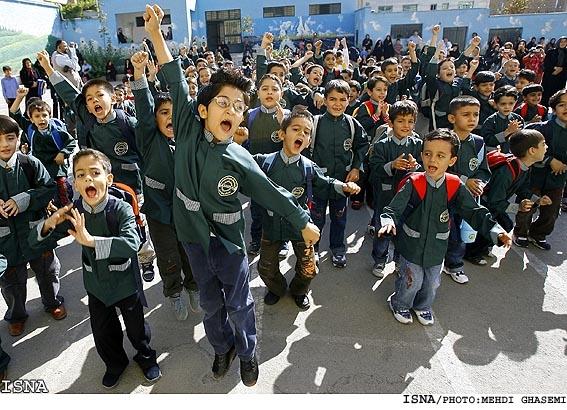 مدارس شیفت بعداز ظهر شهر تهران 24 اسفند 2 ساعت زودتر تعطیل میشوند