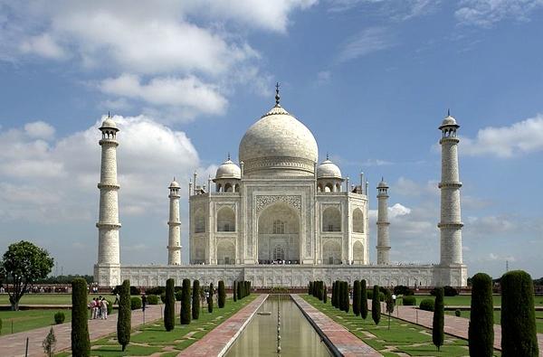 Image result for تاج محل، هندوستان