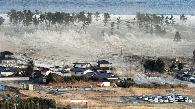 سونامی گسترده ای در مناطق ساحلی ژاپن