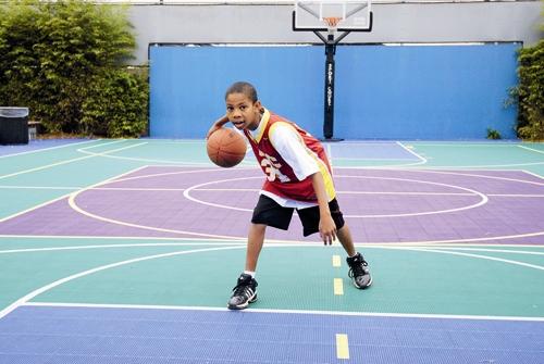 پسر - بسکتبال