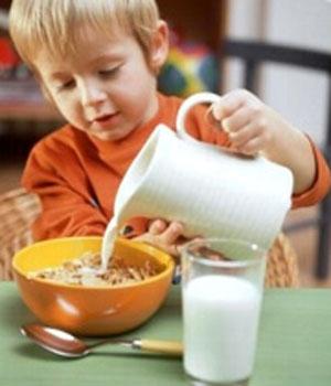 کودک و صبحانه