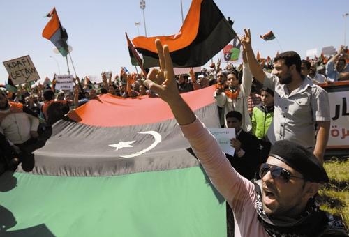 لیبی - قیام مردم