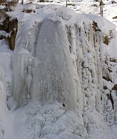 آشنایی با آبشار گنجنامه - همدان