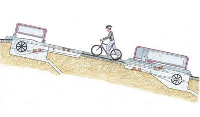 آشنایی با آسانسور دوچرخه در شهر دوچرخهسوارها
