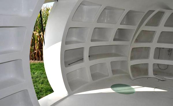 آشنایی با مدل معماری خانه تخممرغی