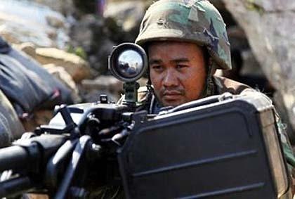 12کشته در تنش بین کامبوج و تایلند