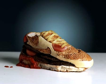 کفش فست فودی