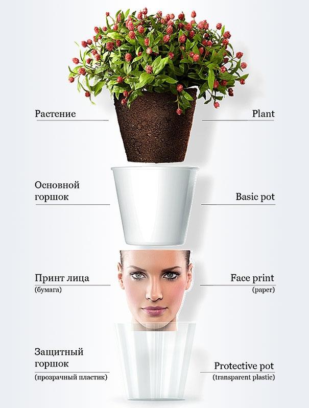 چطور از گلدان به عنوان تبلیغ استفاده کنیم؟