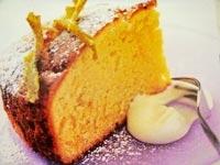 کیک لیمویی اسفنجی