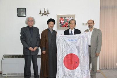 تجلیل دانشکده مطالعات جهان از صبر و استقامت مردم ژاپن