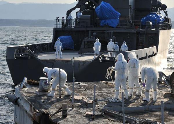مهار نشت آب رادیو اکتیو نیروگاه فوکوشیما