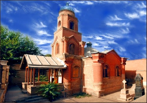 آشنایی با کلیسای کانتور - قزوین