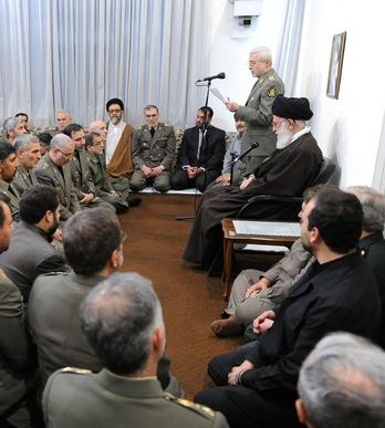 رهبر مقام معظم رهبری ارتش
