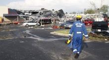 شمار تلفات توفان و گردباد در آمریکا به 22 نفر رسید
