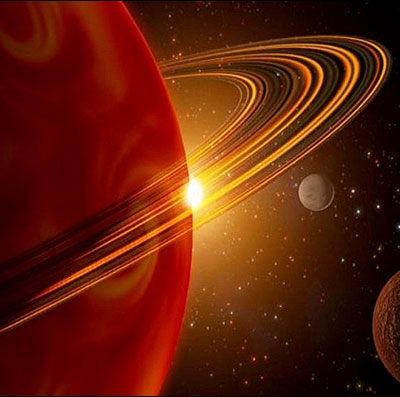 سیاره حلقه دار
