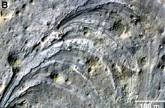 چهار مکان مریخ برای فرود کاوشگر