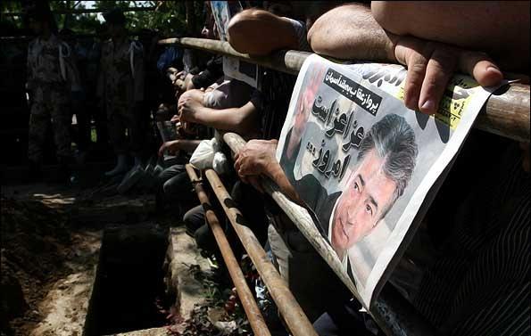 مراسم تشییع و خاکسپاری ناصر حجازی
