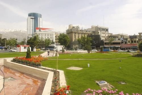 بوستان - شهر تهران