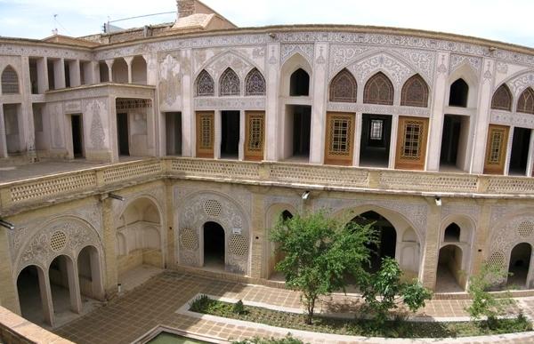 آشنایی با خانه عباسیان کاشان - اصفهان