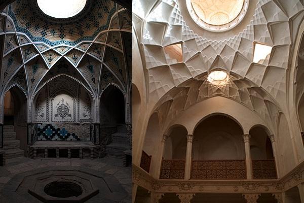 آشنایی با خانه عامریهای کاشان - اصفهان