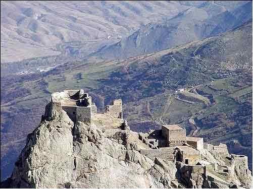 آشنایی با قلعه بابک - آذربایجان شرقی
