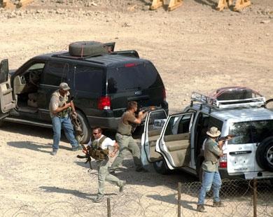شرکت آمریکایی بلک واتر در امارات ارتش سری تشکیل داد