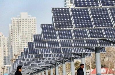 چین میخواهد تا 2020 تولید برق خورشیدی را دو برابر کند