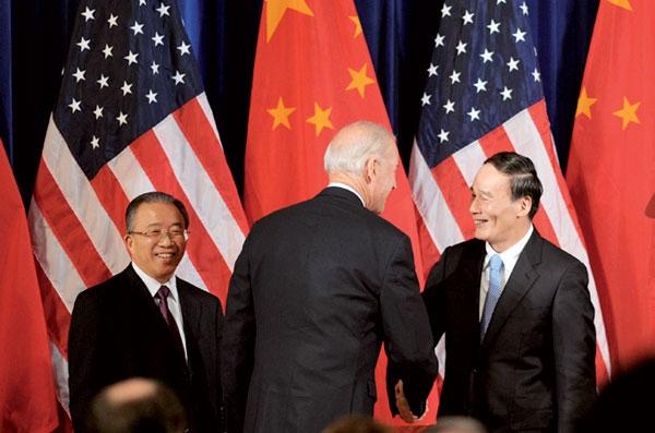 چین- آمریکا مذاکره