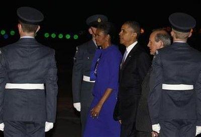 اوباما و همسرش