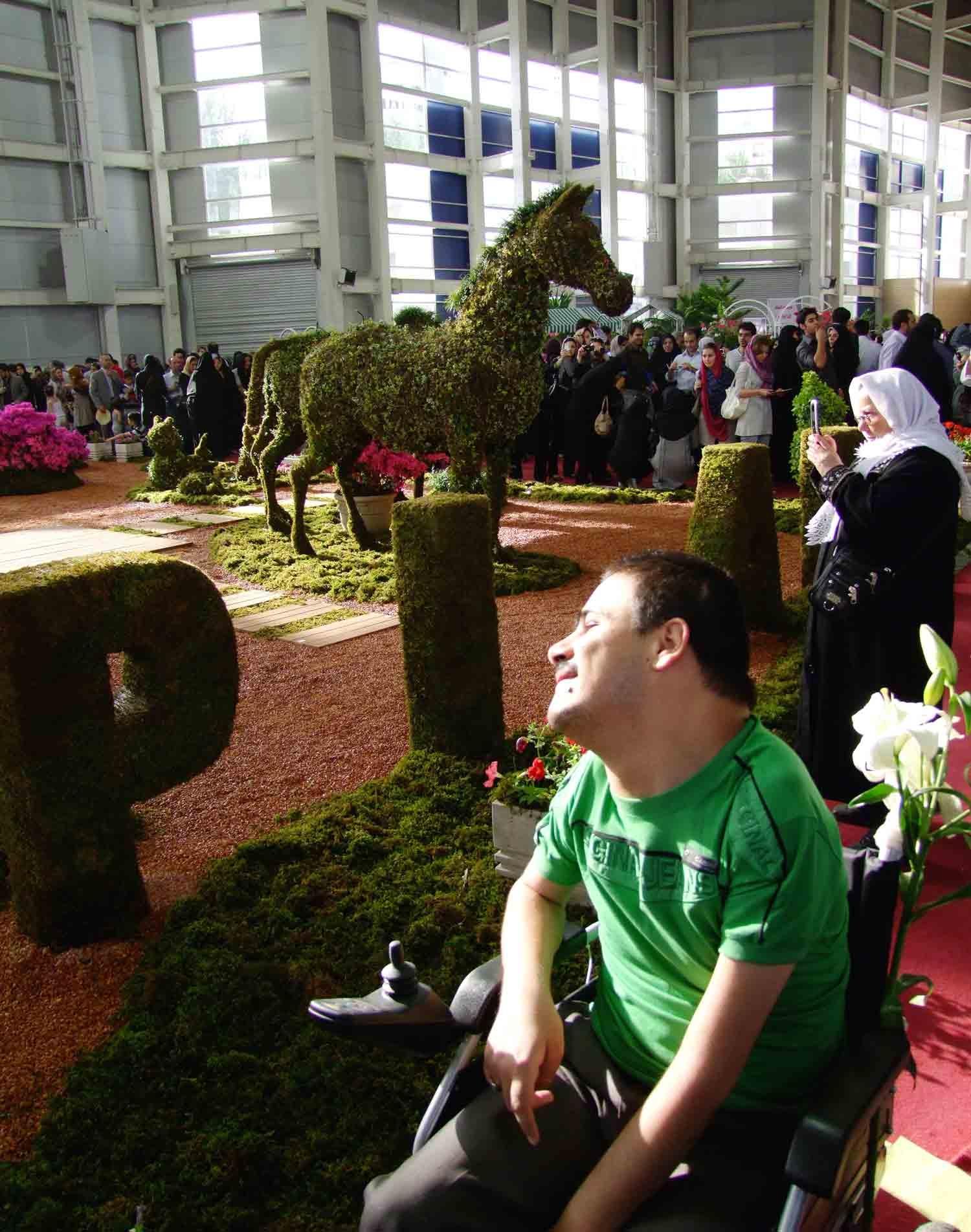 گزارش تصویری از نمایشگاه گل و گیاه