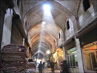 آشنایی با بازار قزوین