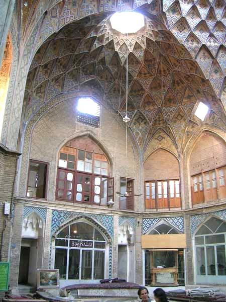 آشنایی با بازار کاشان - اصفهان