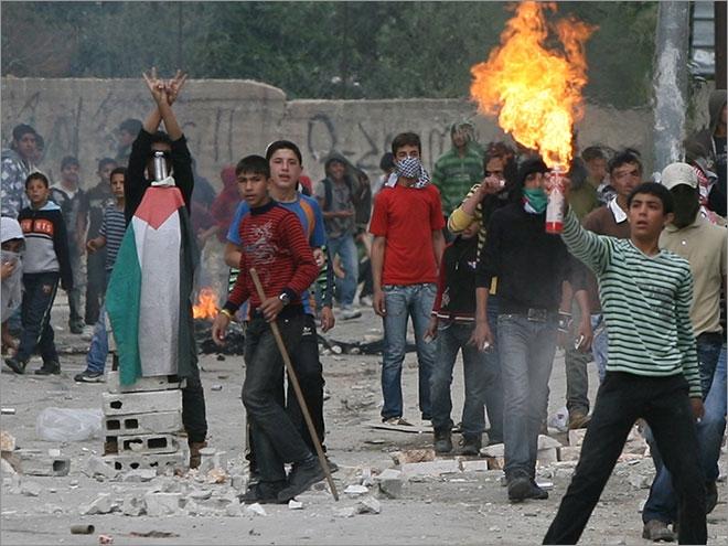 اعتراض فلسطینی ها