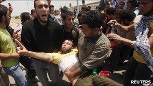 250 شهید و زخمی در درگیری صهیونیستها با فلسطینیان در مرز سرزمینهای